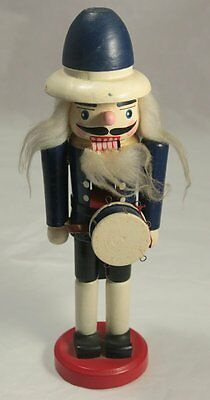 Vintage Wooden German / Erzgebirge Type Drummer Nutcracker