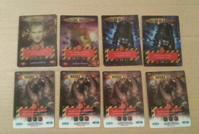 Doctor Who Battles in Time eight Ultra Rare cards