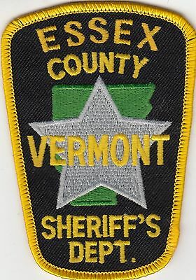 Essex County Sheriff's Dept. Vermont Vt Police Patch