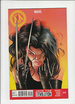 Avengers Arena #14 NM- X-23 Frank Miller homage cover