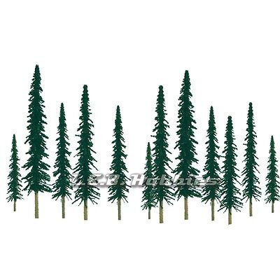 "JTT Scenery Products Conifer Tree Z-Scale 1"" - 2"" Super Scenic, 55/pk 92009"