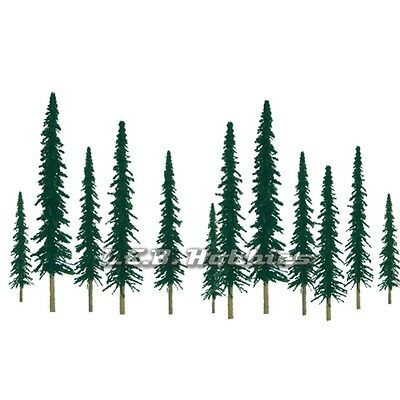 "JTT Scenery Products Conifer Tree N-Scale 2"" to 4"" Scenic Series 36/pk 92010"