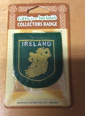 Gifts From Ireland Collectors Badge Green Background  New