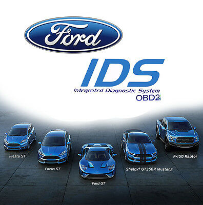 Ford IDS Diagnostic Software v86 + calibration files c81