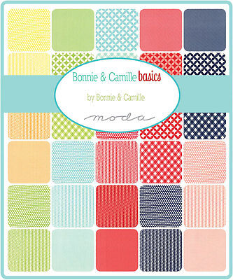 Quilting Fabric Jelly Roll - Moda - Bonnie And Camille Basics