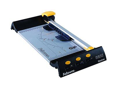 Fellowes 5410401 Small Office Rolling Paper Cutter Electron A4 - Black/Metal