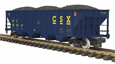 MTH 70-75072, One Gauge / G Scale, 4-Bay Hopper Car - CSX