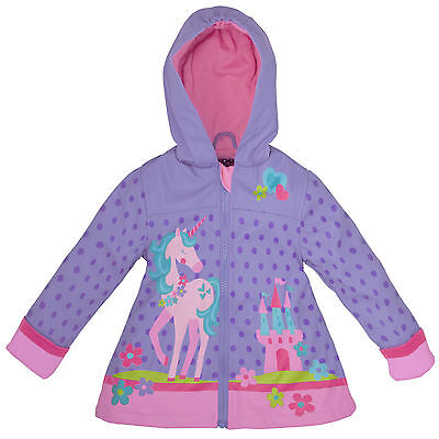 Stephen Joseph E7 Baby Toddler Girl Waterproof Rain Coat – Unicorn SJ-8601-21