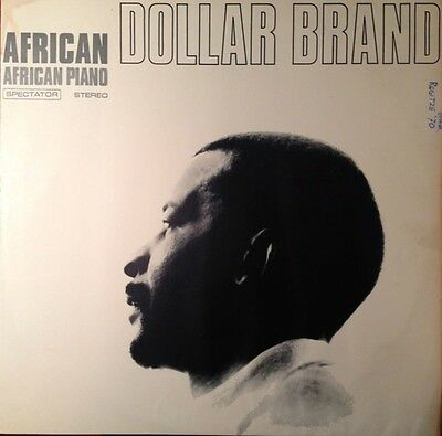 Dollar Brand African Piano NEAR MINT Spectator Records Vinyl LP