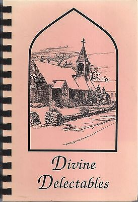 *saunderstown Ri 1998 St John Episcopal Church Rare Cook Book Divine Delectables