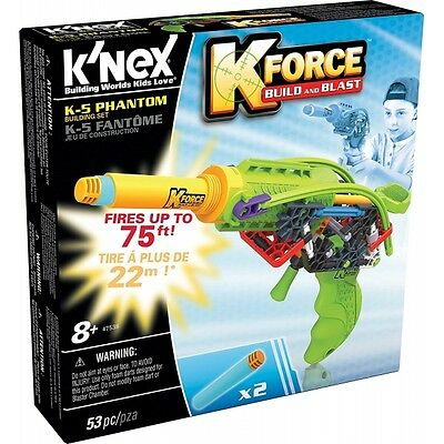 K'nex K-Force K5 Phantom Blaster Construction Set Brand New