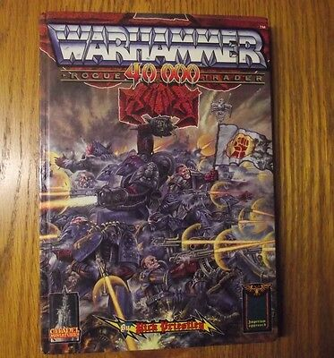 Warhammer 40K Rogue Trader - 1987 Hardback Book - Complete w/ Pull-Out Pages