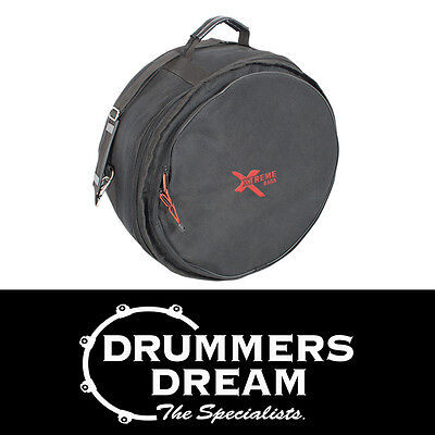 Xtreme Bags 14 x 6-8 Snare Drum Soft Case w/Shoulder Strap, Lined & Waterproof