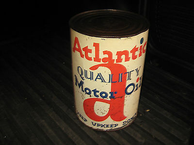 Atlantic 5 Quart Full Can of Motor Oil