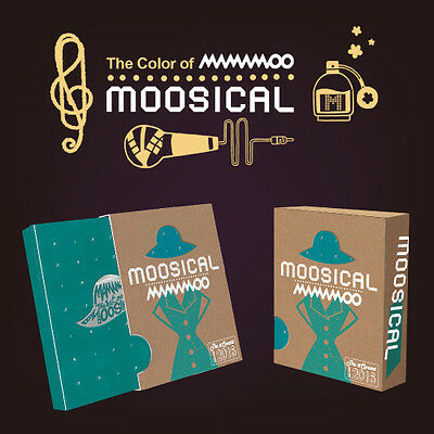 MAMAMOO 2016 MOOSICAL CONCERT [Live CD+Photo Book+Photocard...]