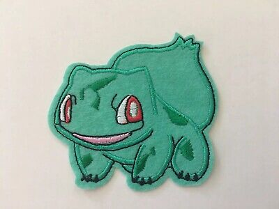 Bulbasaur embroidery patch Size:70MM Iron On Pokemon (1 patch)