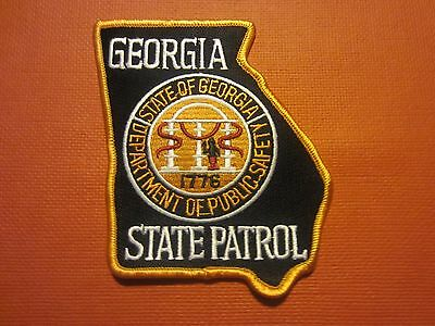 Collectible Georgia State Patrol Patch New