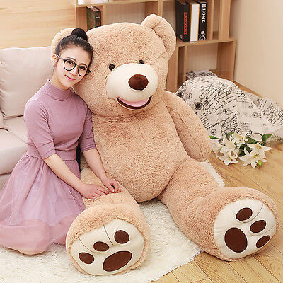 39in.Teddy Bear Gaint with Big Plush Pillow Stuffed Animals Valentine's day gift