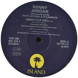 Ronny Jordan - Under Your Spell - Island - 1993 #250799