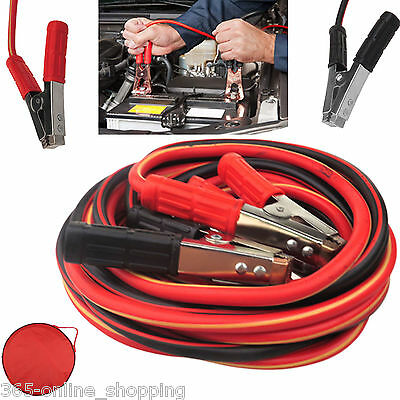 Heavy Duty Battery Jump Start Leads Cable 800amp 6m Long Jumpleads Car Van Boost