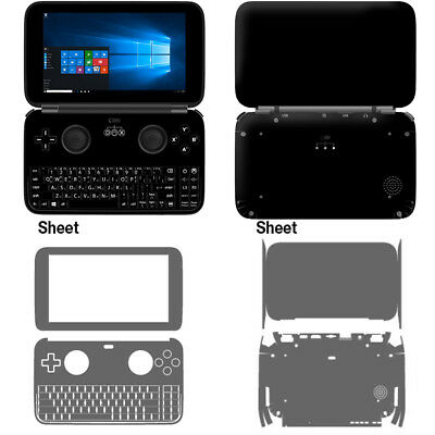 Skin Decal Stickers For GPD Win Console Tuning Mapping POPSKIN Black Edition