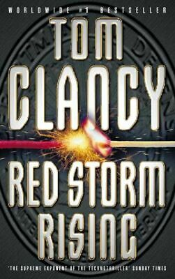 Red storm rising by Tom Clancy (Paperback)