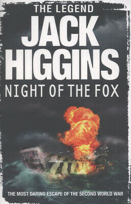 Night of the fox by Jack Higgins (Paperback)