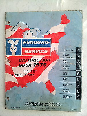 Service Manual Evinrude 1976 115 HP