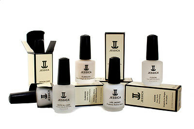 Jessica Cosmetics Nail Care/Polish Solutions & Treatments 14.8ml - All Available