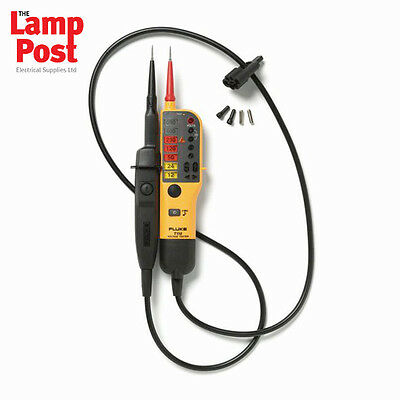 Fluke T110 Electrician's Voltage and Continuity Tester with Switchable Load