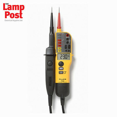 Fluke T130 Voltage and Continuity Tester with LCD & Switchable Load