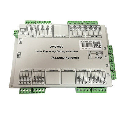 Laser Control System Controller Mainboard for Trocen / Anywells AWC708C