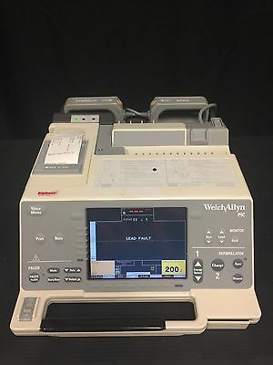 Welch Allyn  Biphasic PIC With Paddles And Power Adapter