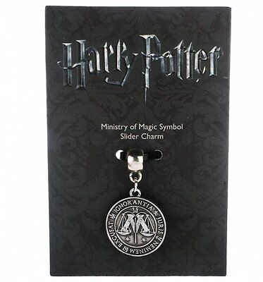 Official Silver Plated Harry Potter Ministry Of Magic Slider Charm