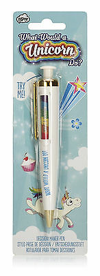 Einhorn Entscheidungsstift What Would A Unicorn Do?