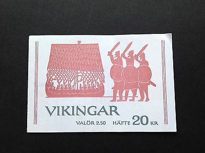 Sweden 1990 Complete Booklet Viking Heritage Mint