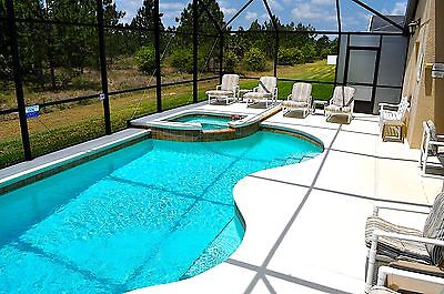4 bed 3 bath villa near Disney, in Orlando, Florida with south facing pool & spa