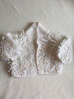 Baby Girls Clothes 6-9 / 9-12 Months - Lovely Hand Knitted Cardigan