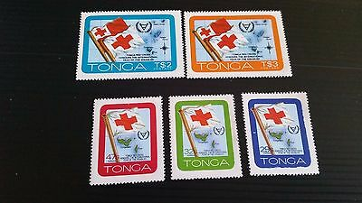 Tonga 1981 Sg 780-784 Year Of Disabled Persons Mnh