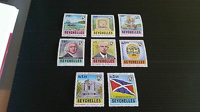Seychelles 1976 Sg 355-362 Independence Mnh