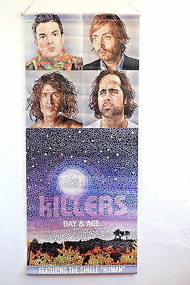 The Killers Band Music Promo Banner Poster Day Age Rare 18x42 inch Double-Sided