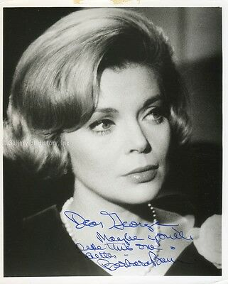 Barbara Bain - Inscribed Photograph Signed