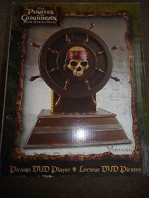 Disney's: Pirates Of The Caribbean Dead Mans Chest Dvd Player New