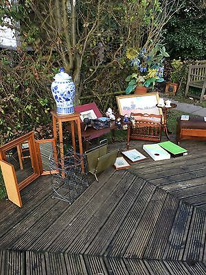 job lot of vintage & retro household items,