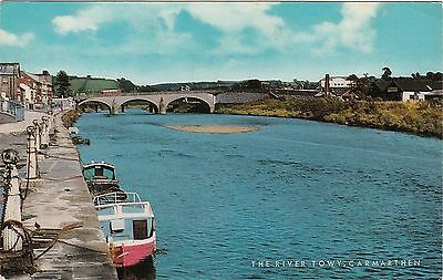 The River Towy, CARMARTHEN, Carmarthenshire
