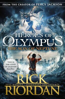 The heroes of Olympus series: The son of Neptune by Rick Riordan (Paperback)