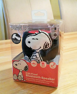Snoopy - Wireless Bluetooth Speaker / Rechargeable / Peanuts / Neu & OVP USA !!