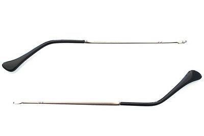 Aste Ricambio Persol 3085v 3085/v 9000 Matte Black Side Arms Nero Temples T42bPCTBh
