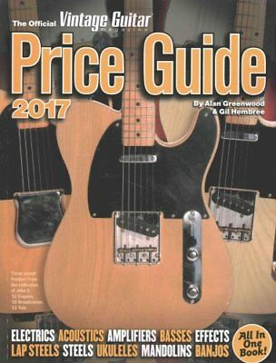 Official Vintage Guitar Magazine Price Guide 2017 2017 9781884883361
