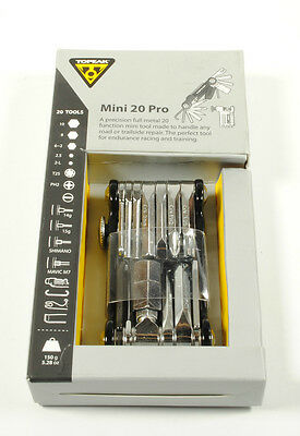 Topeak Mini 20 Pro Multi Tool for Road Bicycle Mountain Bike